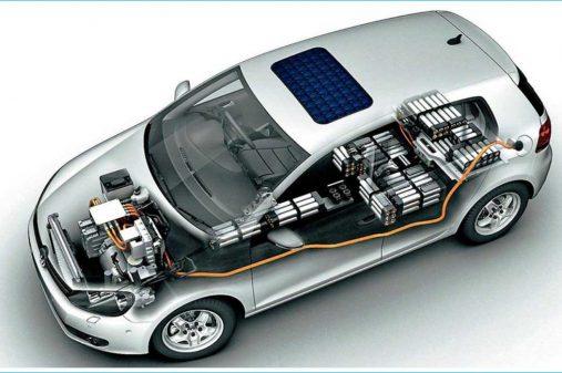 la-partie-intérieure-du-véhicule-électrique